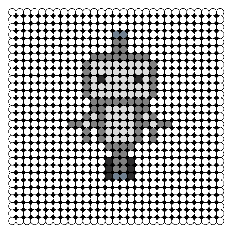 Cute Robot Designs Cute Robot Perler Bead Pattern
