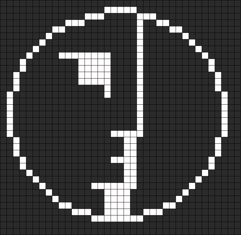 Bauhaus Spirit Logo For Perler