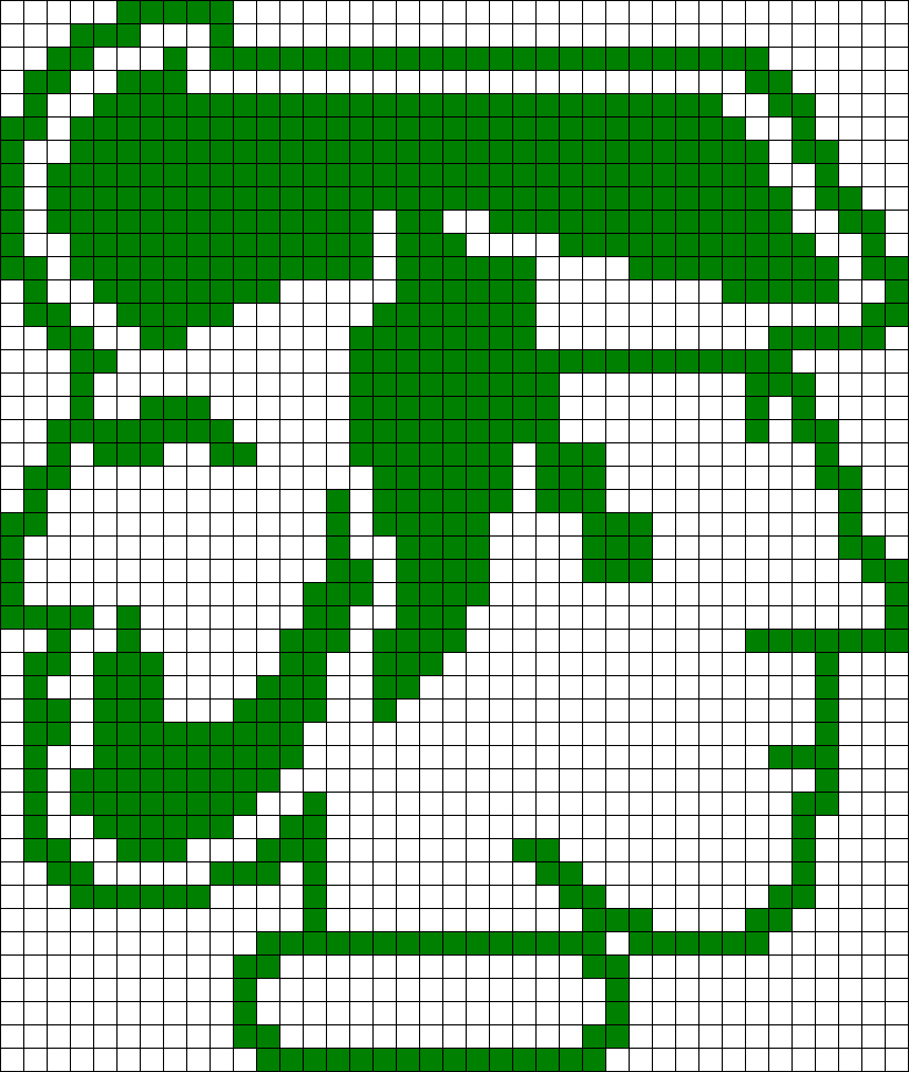 Rhett And Link Symbol Perler Bead Pattern / Bead Sprite