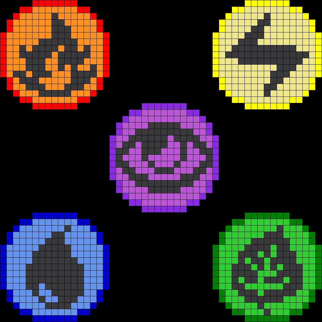 Perler Beads Patterns All Pokemon - 10.3KB