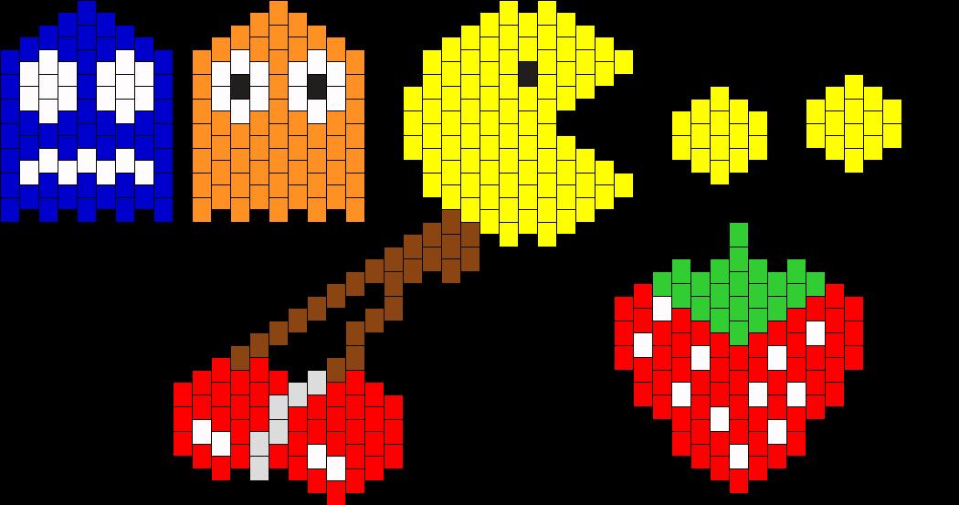 Pacman Necklace Assortment