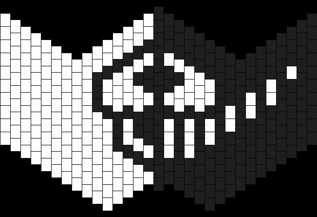 Monokuma Sub Zero Kandi Mask