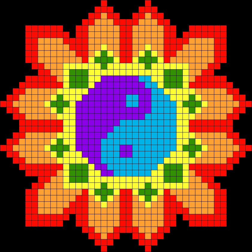 Yin Yang Flower