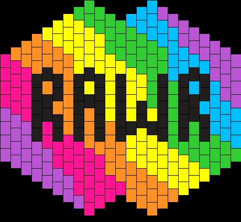 Rainbow Rawr Surgical Mask
