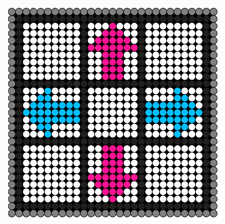 DDR 02 Perler Bead Pattern / Bead Sprite