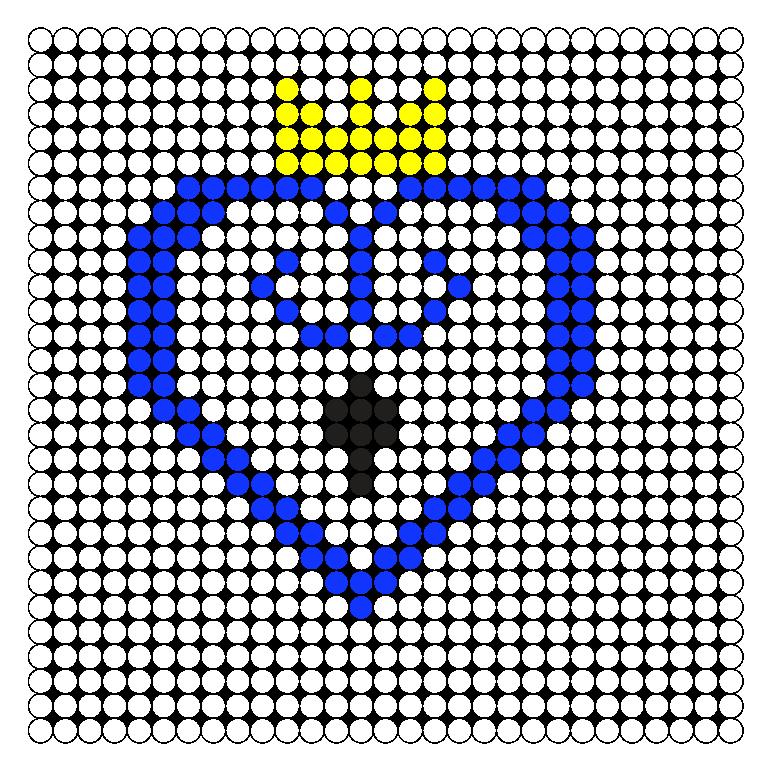 KH Perler Bead Pattern / Bead Sprite