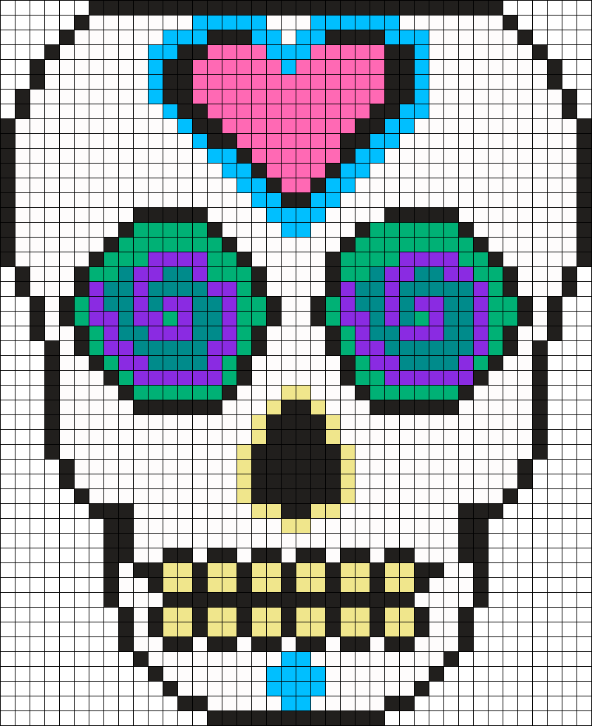 Mexican Muerto Skull