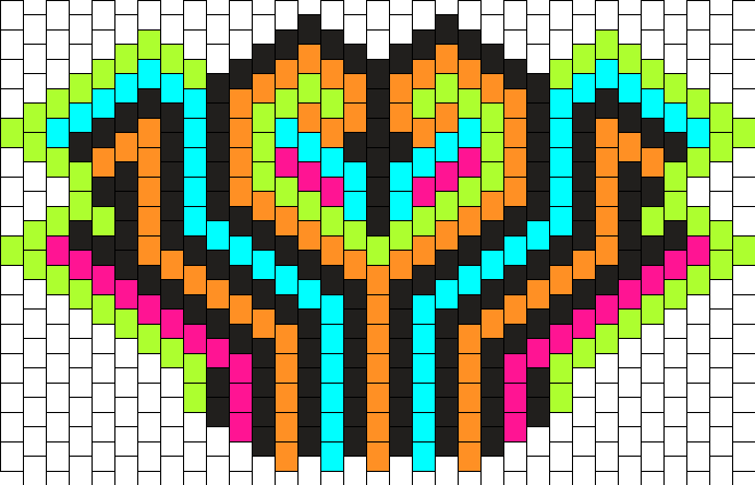 Neon PLUR Mask