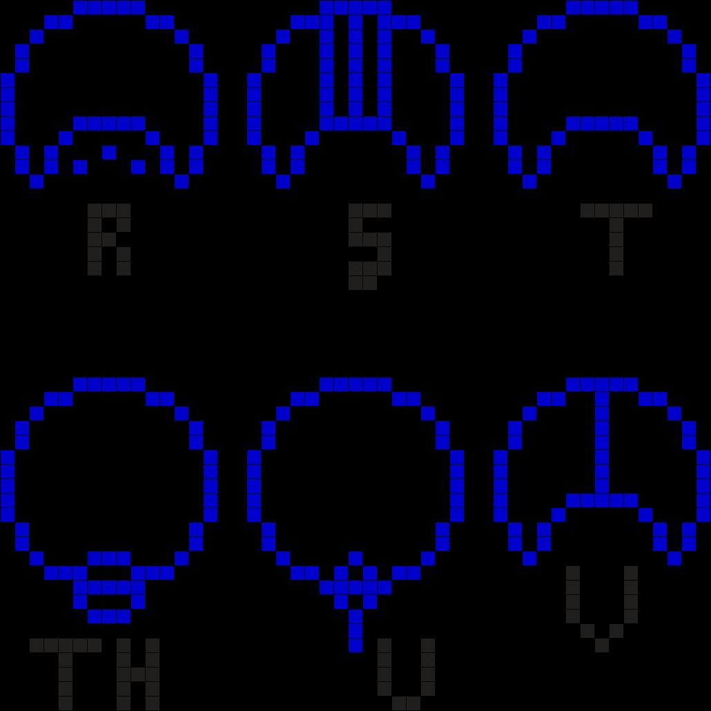 Gallifreyan Alphabet 4
