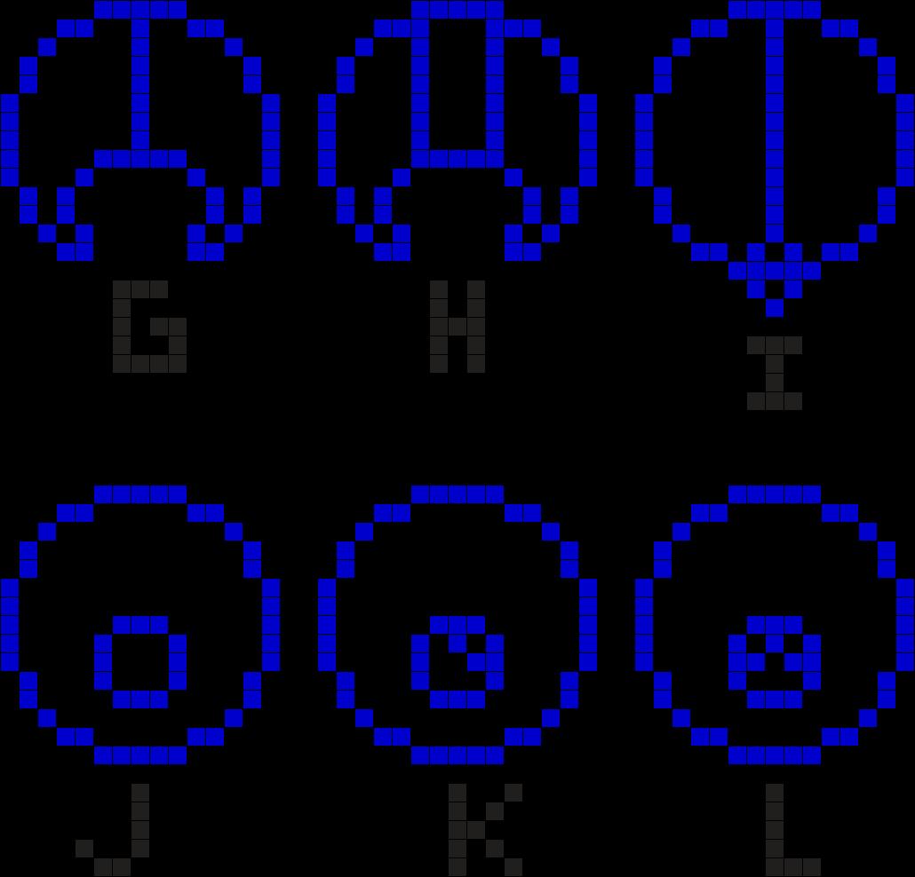 Gallifreyan Alphabet 2