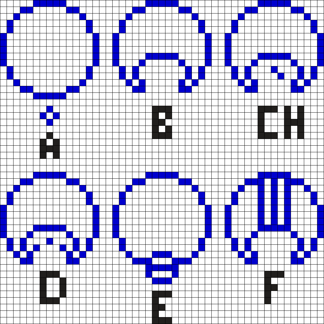 Gallifreyan Alphabet 1