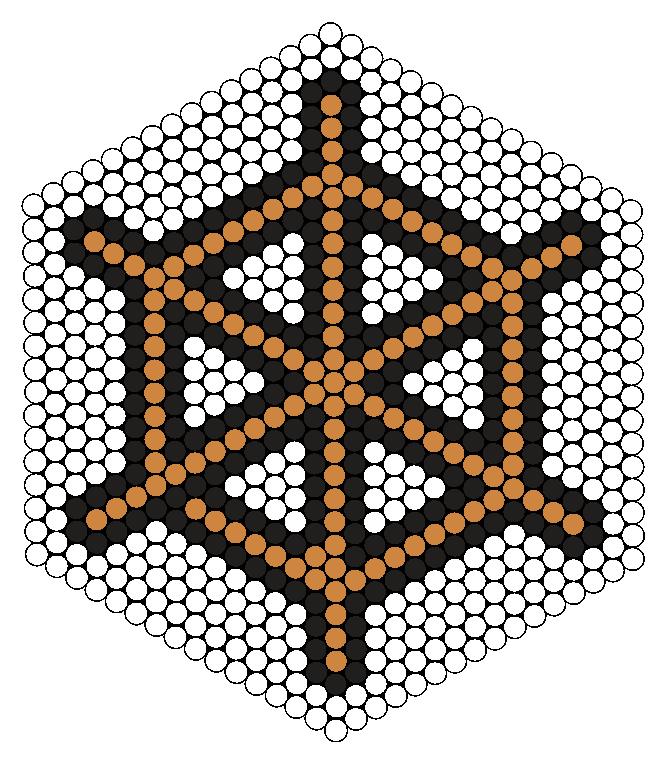 Wheel Perler Bead Pattern / Bead Sprite