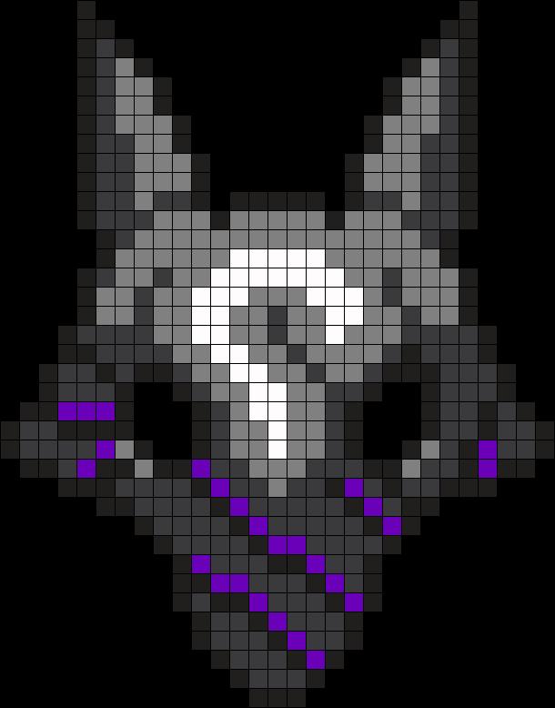 Lamb Mask Perler