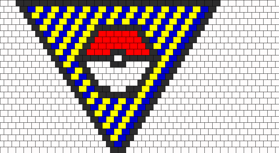Pokeball Bead Pattern