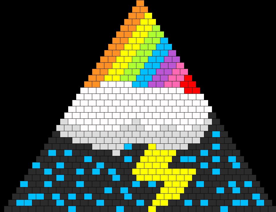 Lighting rainbow Bikini