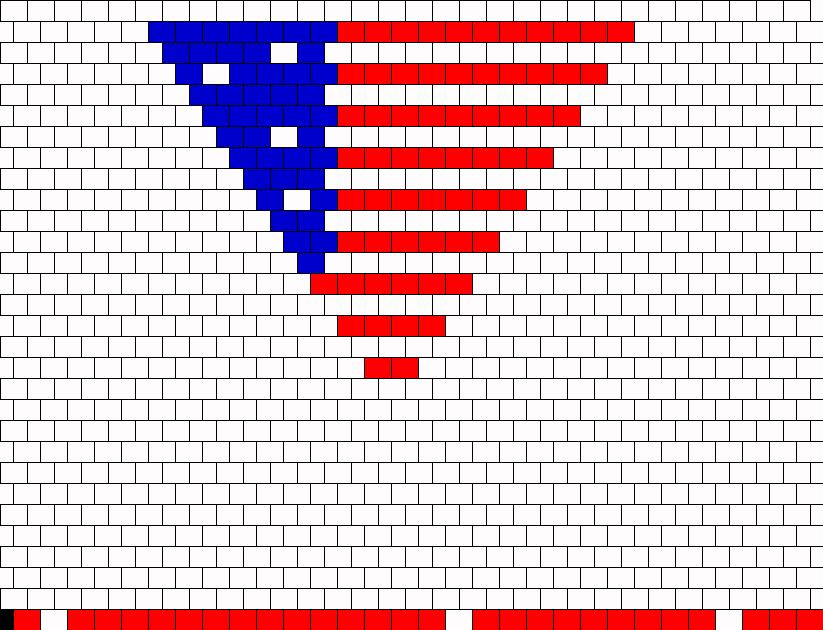 american flag andana