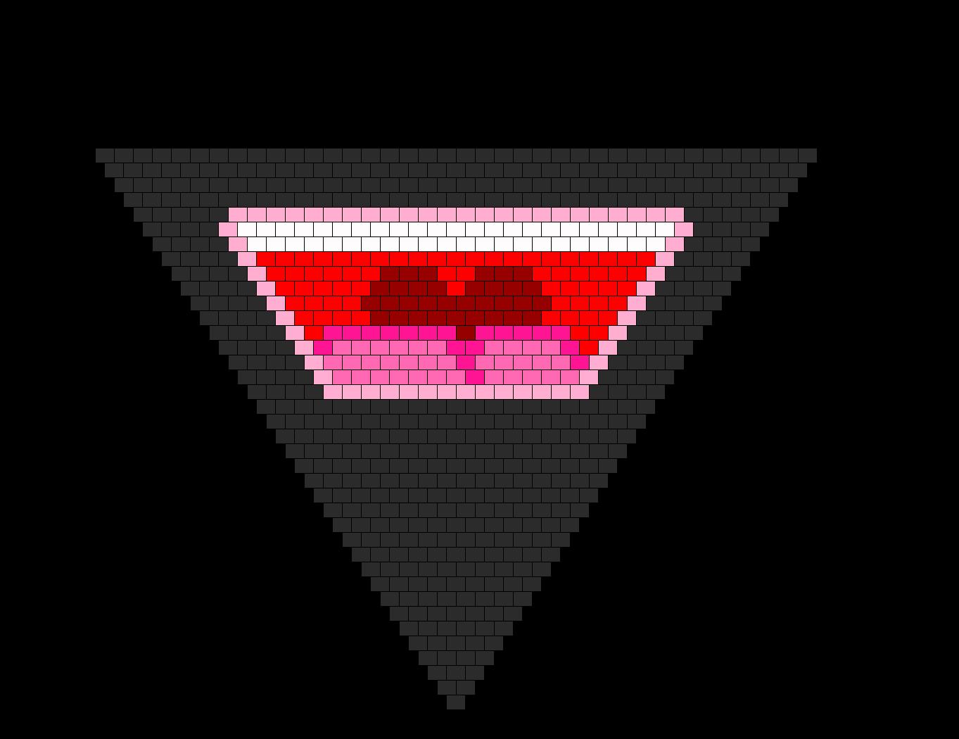 Mouth Bandana Bead Pattern