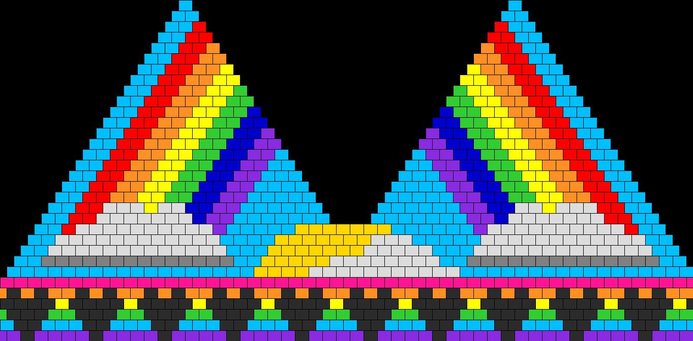 Rainbowy Day Bikini