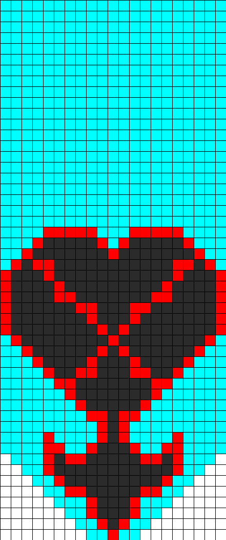 Heartlessladderjake Perler Bead Pattern / Bead Sprite
