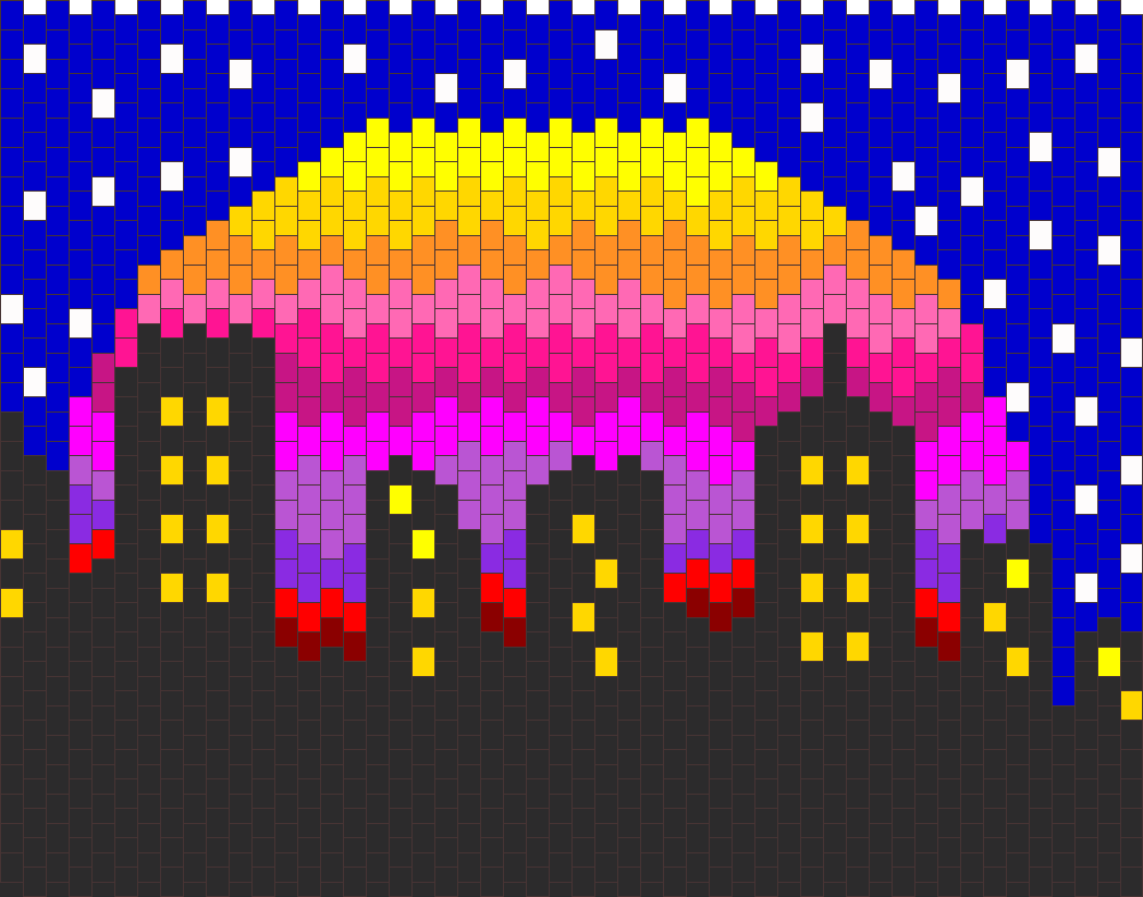 Starry City Bead Pattern