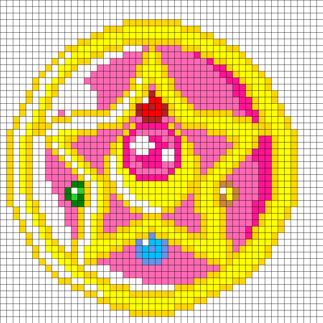 Crystal Star Perler Bead Pattern / Bead Sprite