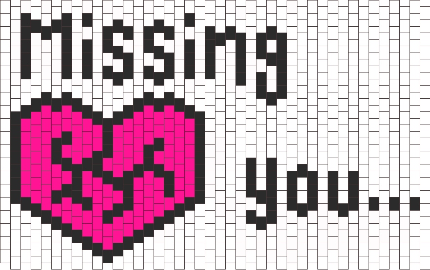 Missing You Bead Pattern