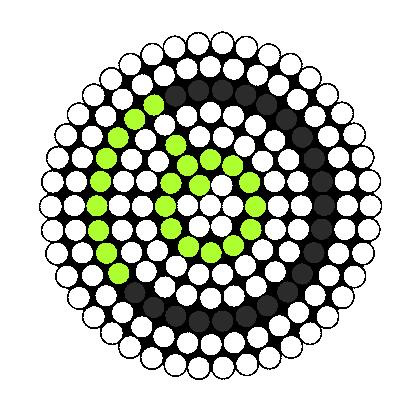 Xbox 360 Perler Bead Pattern / Bead Sprite
