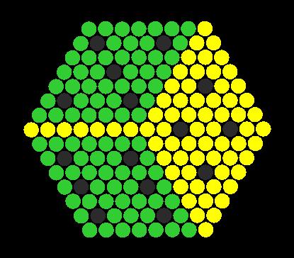 Dice Perler Bead Pattern / Bead Sprite