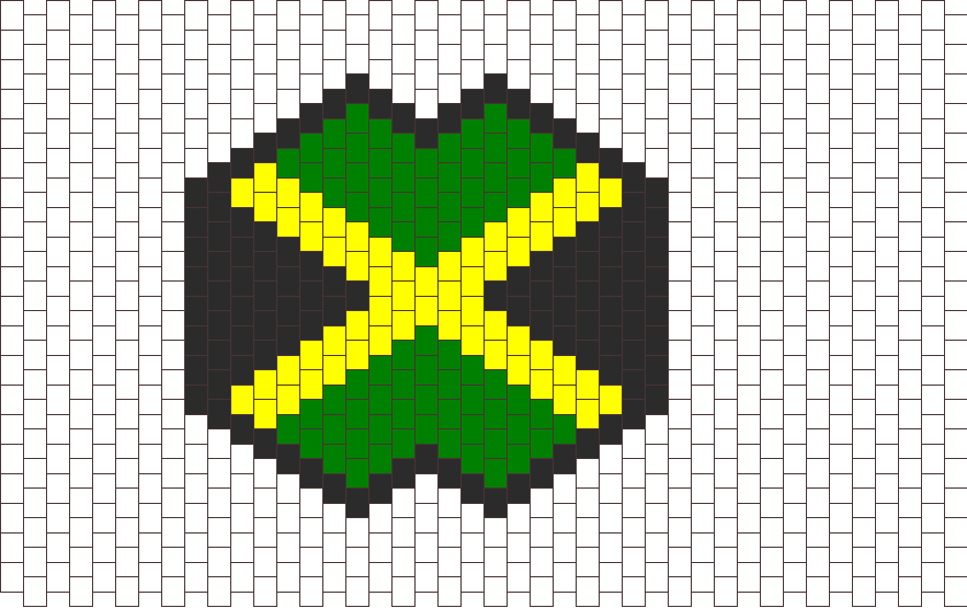 Jamaica Flag Mask