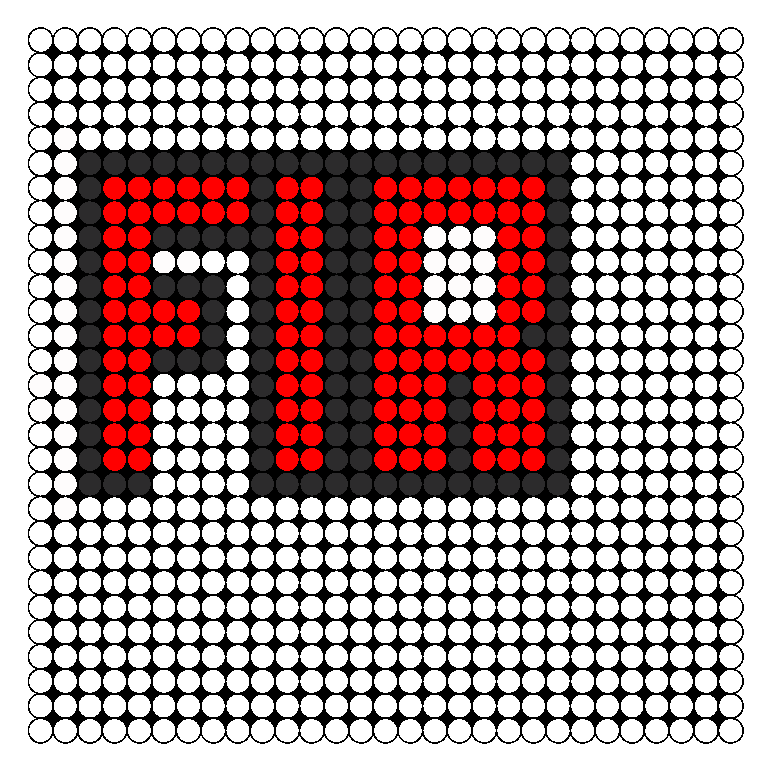 Falling in Reverse FIR Perler Bead Pattern