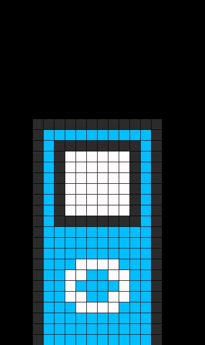 Ipod Perler Bead Pattern / Bead Sprite