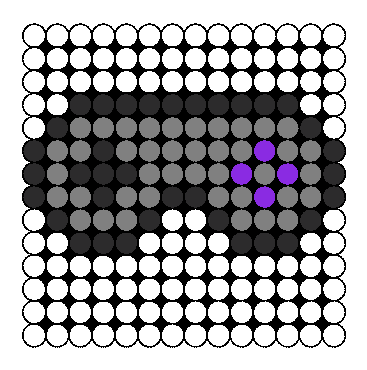 Perler SNES Controller