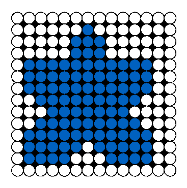 Autism puzzle piece perler