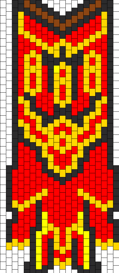 Runescape Trimmed Completionist Cape Bead Pattern