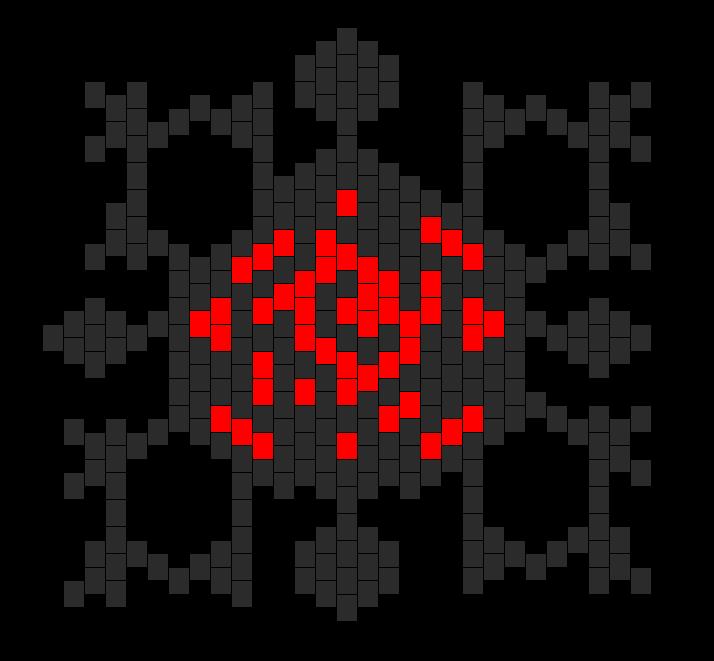 Vampire Knight Logo Bead Pattern