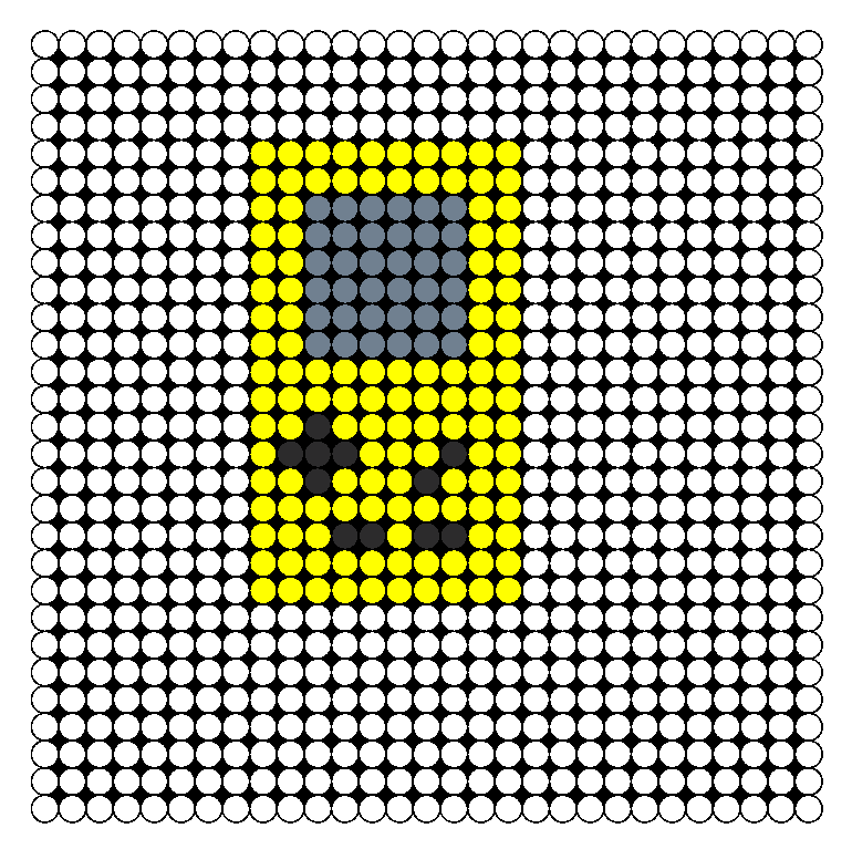 Color Bead Game Color Perler Bead Pattern