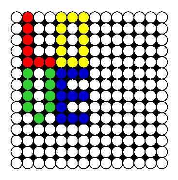 Perler bead love square perler bead pattern bead sprite