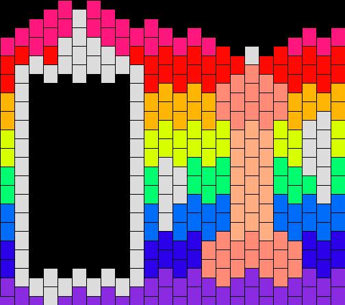 Penis Rainbow Backround Ipod Touch Case