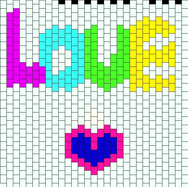 Love Bead Pattern