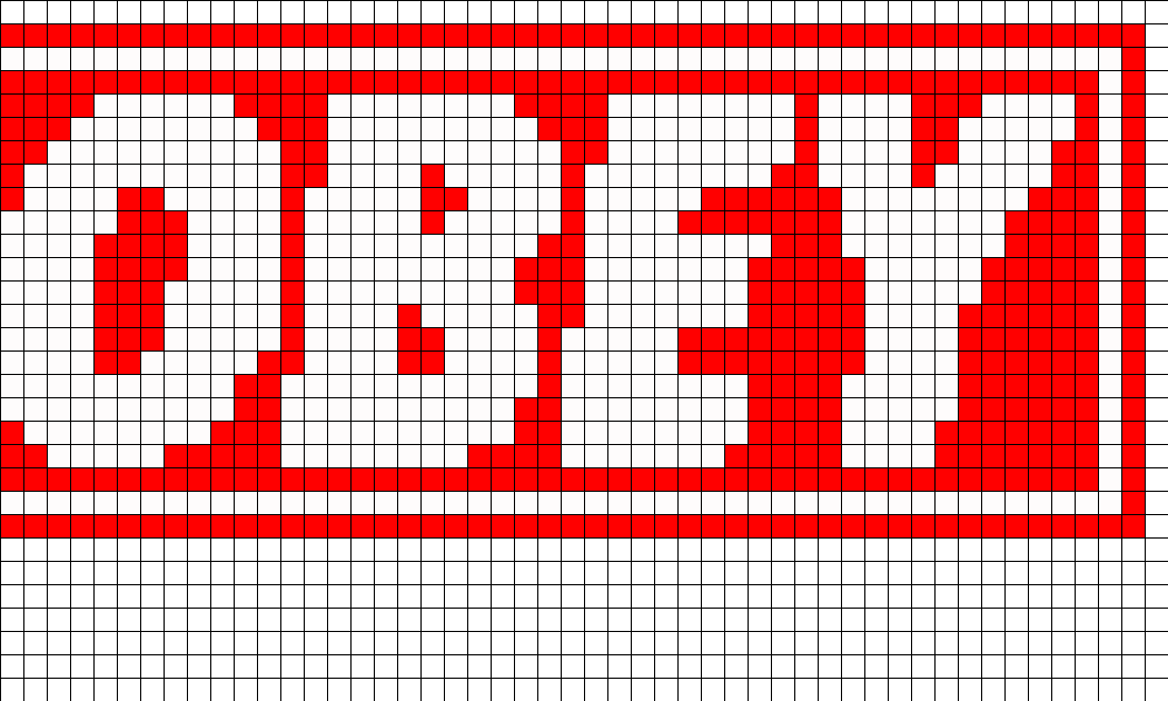 OBEY Perler Bead Pattern / Bead Sprite