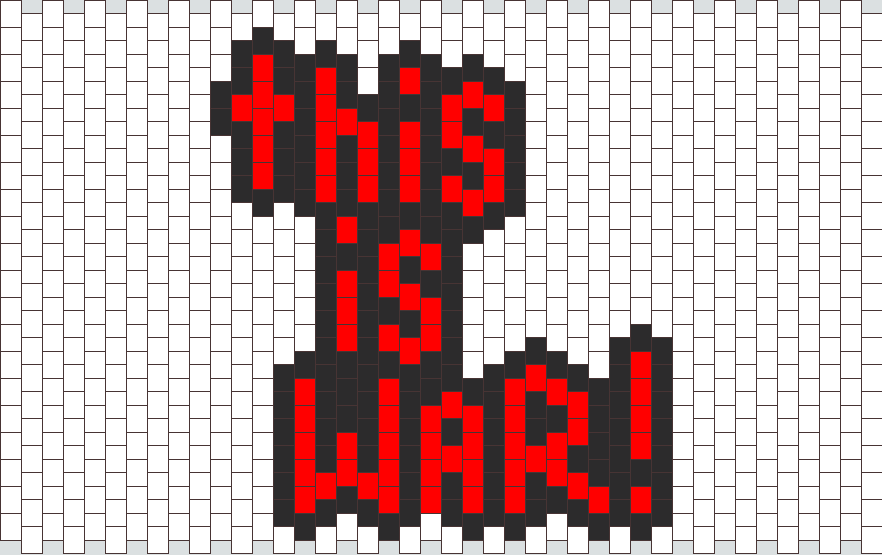 This Is WAR Bead Pattern