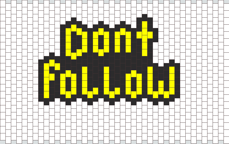 Dont follow