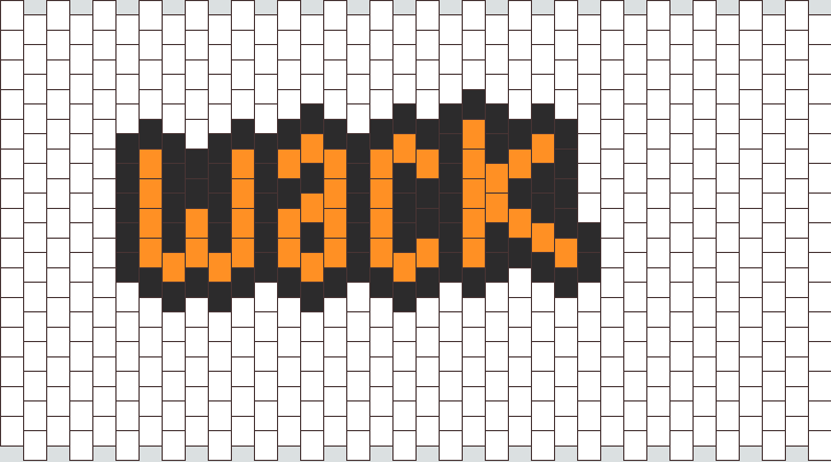 Wack Bead Pattern