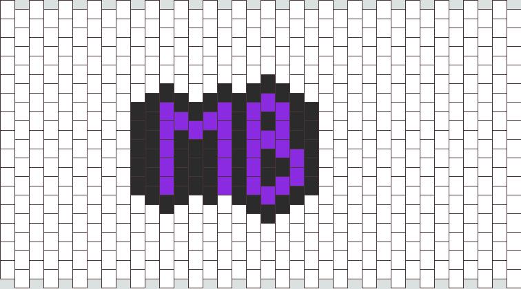 MB Peyote Bead Pattern