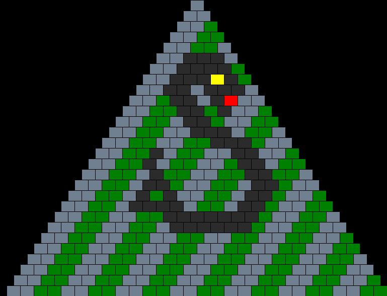Slytherin Kandikini Bead Pattern