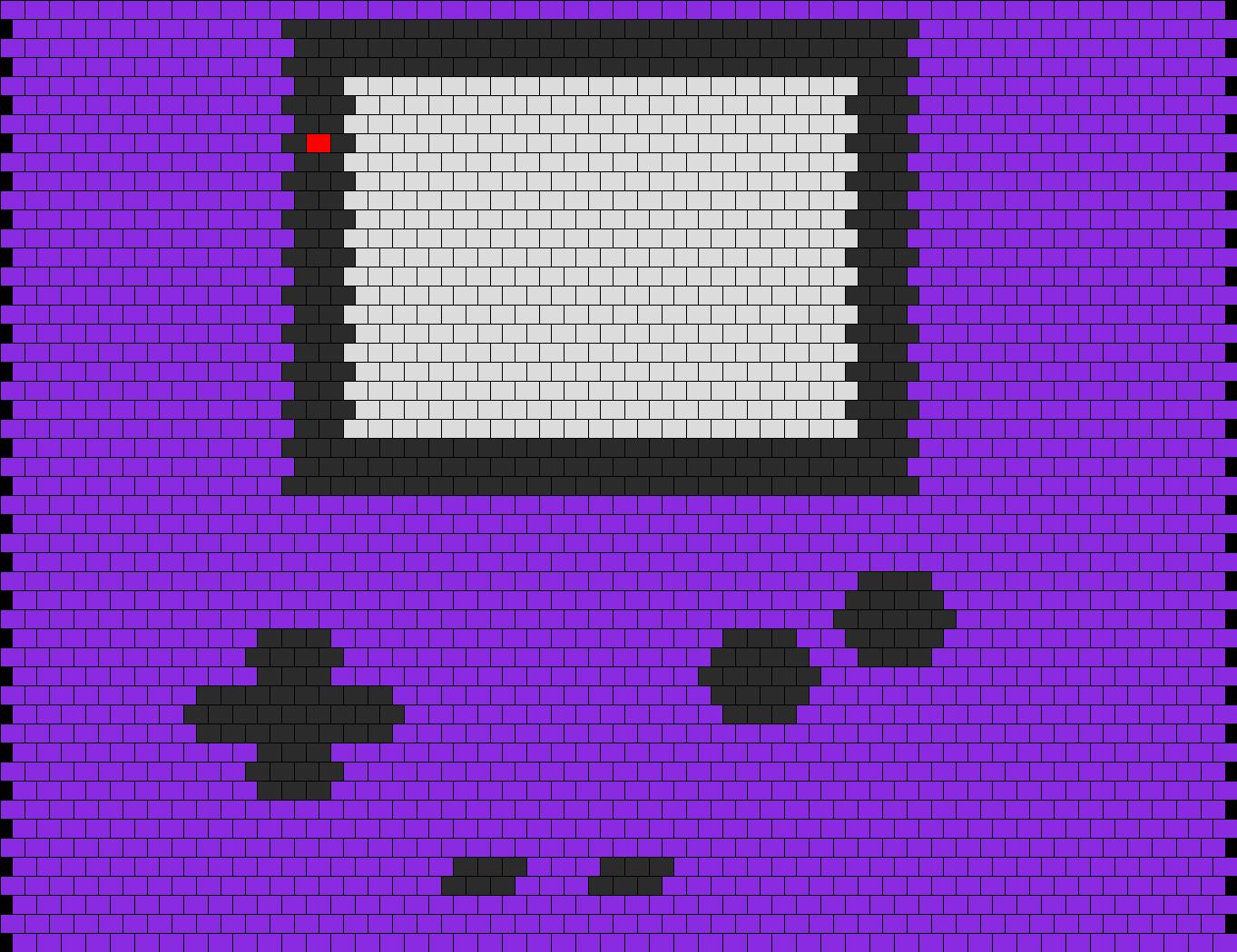 Game boy bag panel