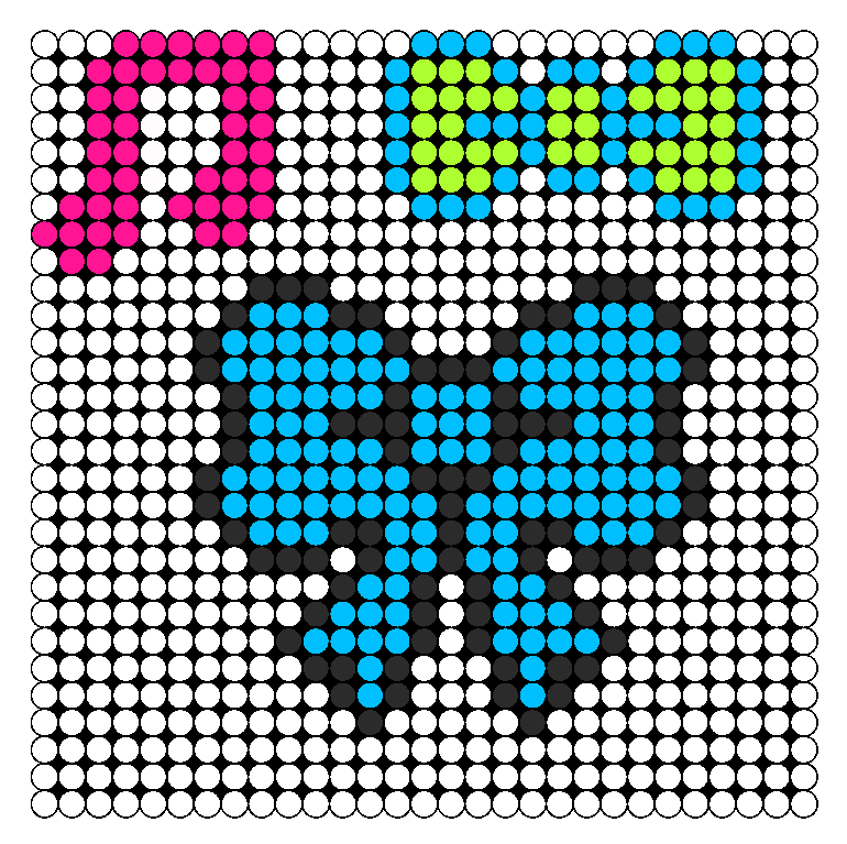 Random Perler Patterns Perler Bead Pattern / Bead Sprite