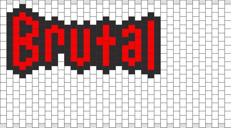 Brutal Bead Pattern