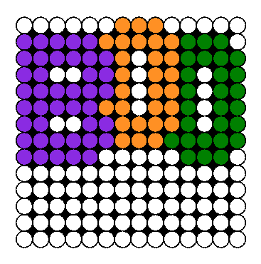 Boo Perler Bead Pattern / Bead Sprite