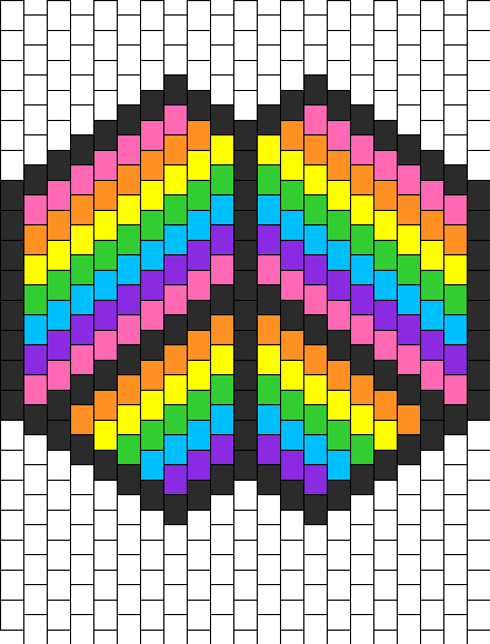 Rainbow Peace Mask